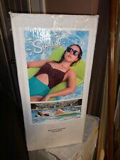 "Texas Recreation Splash 70"" Foam Pool/Lake Raft Lounger Bahama Blue (Open Box)"