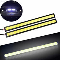 LED Strips Car Boot Interior COB BRIGHT White Strip Under Dash BRIGHT