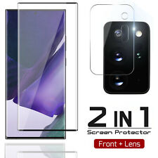 For Galaxy S21 Plus Note 20 Ultra Tempered Glass Screen Protector / Camera Lens