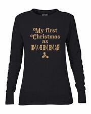 My First Christmas as Mummy Sweatshirt Sweater, Jumper,New Mum Xmas Gift,5 sizes