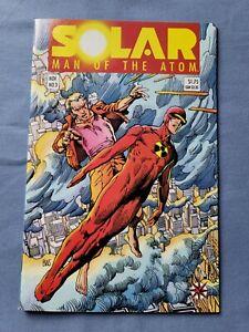 Solar Man of the Atom 3 • NM • 1991 Valiant Comics 1st App Toyo Harada Harbinger