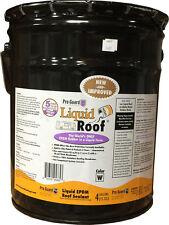 Liquid RV Roof EPDM, RV Roof Repair Coatings - 4 Gallon Pail