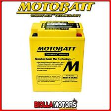MBTX14AU BATTERIA YTX14AH-BS KAWASAKI KLF300-C Bayou 300 4x4 300 2000-- MOTOBATT