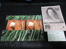 Tori Amos Pink Tour World Tour Program Book w Japanese Ticket & Flyer in 1994
