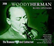 WOODY HERMAN - BLUES UPSTAIRS - 36 TRACKS  2CD SET - FREE POST IN UK