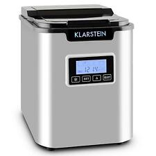 KLARSTEIN ELECTRICAL ICE CUBE MAKER COMPACT COUNTER TOP ICE MACHINE 12 KG/ 24 HR