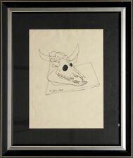 Roberto Crippa china su carta 1946 no Gianni dova Enrico BAJ Sergio dangelo