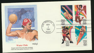 #2082-2085 Fleetwood Cachet First Day Cover Se-Tenant Block unadd.Lot 1437