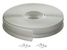 Flexible Vinyl Garage Door Top And Sides Seal With Fasteners White Door Seals