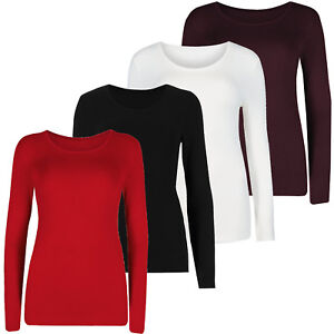 Marks & Spencer Womens Heatgen Plus Soft Brushed Long Sleeve New M&S Thermal Top