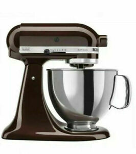 KitchenAid Artisan Series 5-Qt. Stand Mixer with Pouring Shield - Espresso - NEW