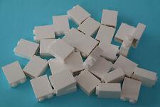 30 Lego Bausteine 1x2x2 weiß NEU 3245c Basic Steine Grundsteine