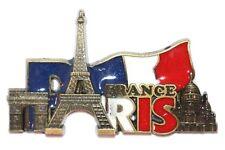 Paris Landmarks Tourist Travel Souvenir 3D Metal Fridge Magnet Gift