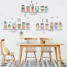 Removable Colorful Bottle Wall Sticker Vinyl Art Mural Wall Decal Home Decor Diy