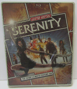 Serenity Comic style Steelbook Blu-ray / DVD 2-Disc set NEW! No digital copy