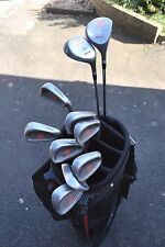 Set of Mizuno Toyota Golf Clubs Complete Set 4-SW 1-Wood 3-Wood in TopFlite Bag