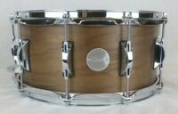 Click Drums 6.5x14 Walnut Snare Drum Satin Oil Finish