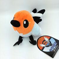 """Fletchling Pokemon XY Yayakoma Bird Flying Type Soft Plush Toy Stuffed Animal 6"""""""