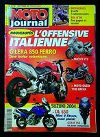 MOTO JOURNAL N°1583 du 18 Septembre 2003