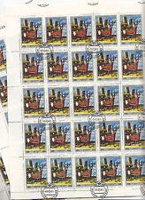 """CCCP URSS 10 feuilles Art Plastique de peintres Georgiens """"Cerf"""" 4 k 1981"""