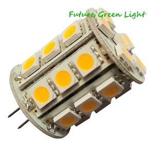 G4 27 SMD LED 12V (12-18V AC / 10-30V DC) 4.5W 400LM WHITE BULB ~40W