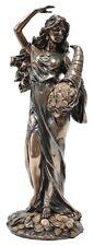 Fortuna Statue Lady of Luck Fortune Statue Figurine 27cm(H)