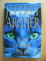 NEW Cat O'Nine Tales : And Other Stories by Jeffrey Archer (2007, Hardcover)
