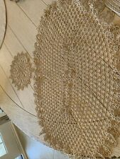 New listing Lovely Vintage Tatted Doilies