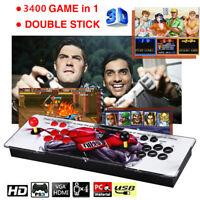 3400in1 Pandora-s Games Retro Arcade Classical Video Gaming Console VGA For PC