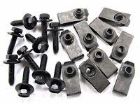 10mm Hex Mopar Body Bolts /& Barbed Nuts M6-1.0mm x 20mm Long Qty.10 ea. #126