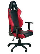 Sedia ufficio Omp Chair nera rossa ha/777e/nr
