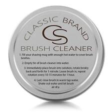 Classic Brand Shaving Brush Cleaner - New or Old Shave Brushes, Badger or Synth
