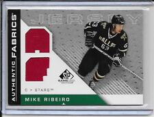 07-08 SP Game Used Mike Ribeiro Authentic Fabrics Dual Jersey