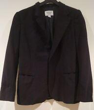 ARMANI TEEN Made In Italy Boy's Black Wool Stretch Lined Formal Blazer Jacket 11