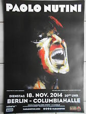 PAOLO NUTINI 2014 BERLIN   orig.Concert-Konzert-Tour-Poster-Plakat DIN A1