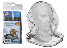 MOSQUITO MESH HEAD NET TRAVEL PROTECTOR CAMPING BUGS FLIES FACE NETTING MIDGE UK