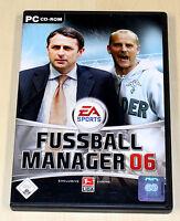FIFA FUSSBALL MANAGER 06 - PC SPIEL - EA SPORTS 2006