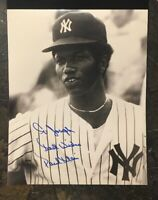 PAUL BLAIR AUTOGRAPHED SIGNED AUTO BASEBALL PHOTO 8x10 YANKEES