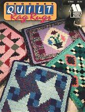 Crochet rag rug patterns AA Quilt Rag Rugs to crochet