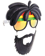 RASTA SUNGLASSES SUNSTACHES JAMAICAN HALLOWEEN MASK