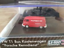 Carson VW T1 Bus Kastenwagen Porsche, RC, rot / Neu & OVP