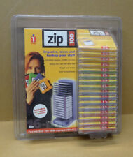 Iomega Zip Disks (16)  100 MB Multicolored with Tower Sealed NOS Genuine