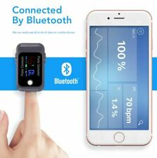 Pulse Oximeter Fingertip Bluetooth Blood Oxygen Saturation Health Care Ox Finger