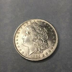 1 $ USA / Amerika Morgan-Dollar 1884  O Silber