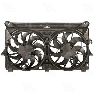 For Chevrolet Avalanche Dual Radiator and Condenser Fan Assembly Four Seasons