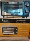 Avanti Portable Oven Po3a1b Toast - Bake - Broil - Stainless Steel New In Box!! photo