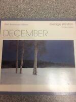 December - Audio CD By George Winston - VERY GOOD