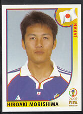 Panini Football - World Cup 2002 - Sticker No 540 - Japan - Hiroaki Morishima