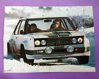 altes Poster Walter Röhrl Rallye Weltmeister Fiat 131 Abarth All Italia 41x55cm