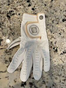 ++ New ++  All Weather Men's White Golf Glove, ML, Men's Left